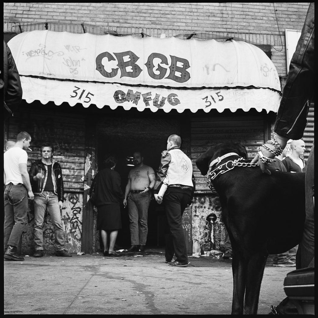 Chained Dog CBGB